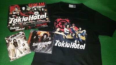 $475 • Buy Tokio Hotel - Exclusive Box Set Portugal - Cd T-shirt And Book Calendar 2008 New