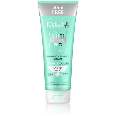 £7.99 • Buy Eveline Slim Extreme 3D Slimming Firming Body Cream Anti Cellulite Stretch Marks