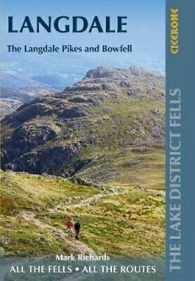 Walking The Lake District Fells - Langdale The Langdale Pikes A... 9781786310323 • 10.71£