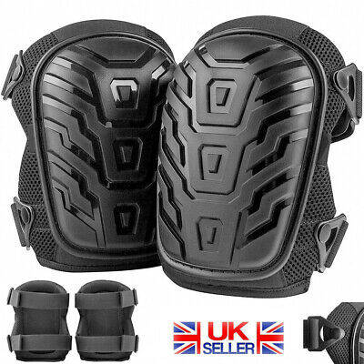 Professional Construction Gel Knee Pads Safety Leg Protectors Work Comfort Pair • 10.99£