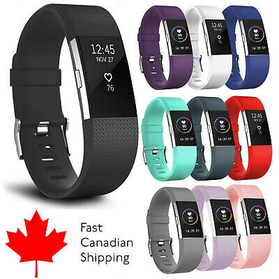 $ CDN4.27 • Buy For Fitbit Charge 2 Band Replacement Watch Strap Wristband Small Large