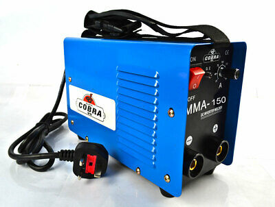 100 Amp Inverter Wire Welder Portable Gasless Welding Machine 230V Workshop Kit • 154.56£