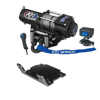 AU406.29 • Buy 3000 Lb KFI Winch Combo Kit (M2) For 2007-2014 Yamaha Grizzly 350 2x4, 4x4