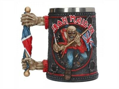 £37.95 • Buy Iron Maiden  Trooper  Tankard / 14cm Boxed /  New / Free Delivery