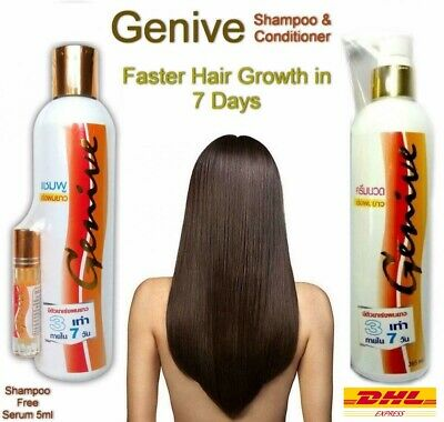 £22.82 • Buy GENIVE Shampoo & Conditioner Long Hair Fast Growth 3X FASTER Lengthen & Longer