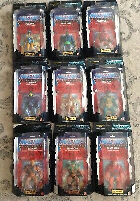 $1099.99 • Buy Mattel Masters Of The Universe Commemorative Series Lot (9) Mib He-man,skeletor