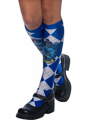Harry Potter Ravenclaw Socks Costume Fashion Accessory Luna Child Adult Blue NEW • 7.86£
