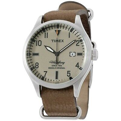 $51.53 • Buy Timex The Waterbury Brown Dial Leather Strap Men's Watch TW2P64600