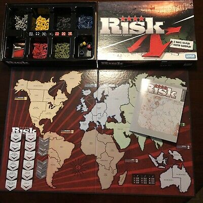 $10.95 • Buy Risk Board Game Revised Edition 2008 Faster Multiple Gameplay Complete