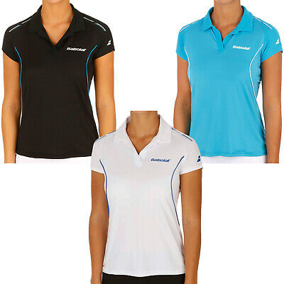 Babolat Girls Match Performance Tennis Badminton Squash Polo Shirt Top • 4.99£