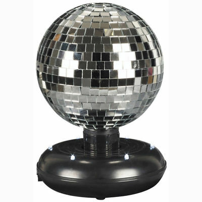 £7.72 • Buy Battery Operated LED Dance Disco Lamp Party DJ Ball Rotating Mirrored Light