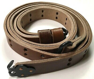 $ CDN25.48 • Buy WWII US M1 GARAND RIFLE M1907 LEATHER CARRY SLING-1 Inch
