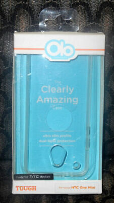 AU5.47 • Buy New Olo HTC One Mini Case Protector Tough Ultra Slim Clear 2 PACK