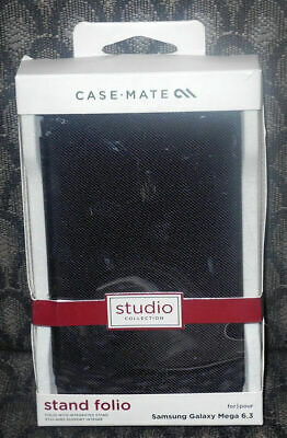 AU9.54 • Buy New Case Mate For Samsung Galaxy Mega 6.3 Stand Folio Cases Black Color