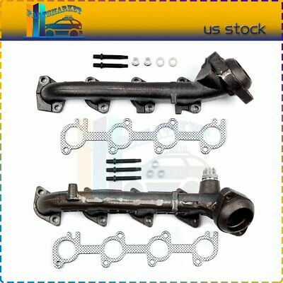 $101.69 • Buy Exhaust Manifold Pair Set For 1999 2000 2001 2002 2003 Ford F-150 5.4L V8