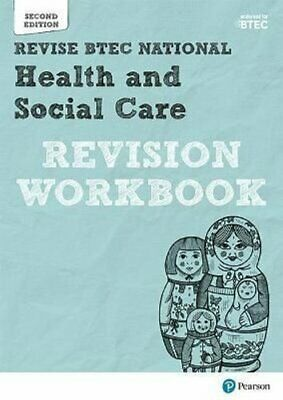 £12.83 • Buy BTEC National Health And Social Care Revision Workbook Second E... 9781292230580