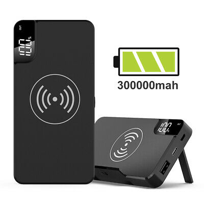 View Details Qi Wireless Charging 300000mAh Power Bank Type-C Portable Battery Fast Charger • 22.99£
