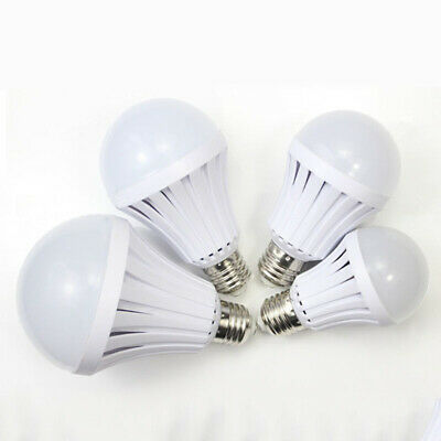 LED Emergency Light Bulb 5/7/9/12W Automatic Rechargeable Battery E27 Lamps • 9.76£