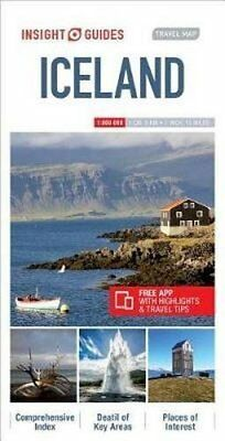 Insight Guides Travel Map Iceland, NEW • 8.46£