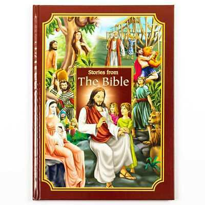 £5.95 • Buy Childrens Stories From The Bible Hardback Illustrated Bedtime Story Book 489BICB