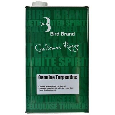 £8.50 • Buy Turpentine Genuine Turps Cleaner Thinner Oil Based Products Paint Brushes