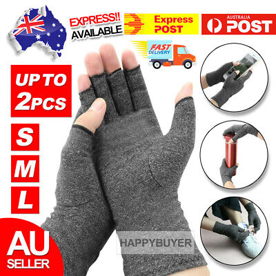 AU8.95 • Buy Arthritis Gloves Compression Joint Finger Pain Relief Hand Wrist Support Brace