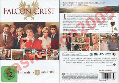 DVD FALCON CREST TV SERIES FIRST SEASON 1 Jane Wyman Lorenzo Lamas Region 2 NEW • 24.99£