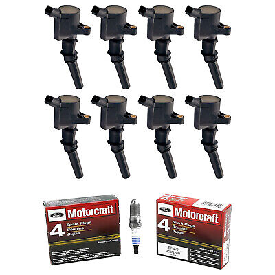 $119.37 • Buy Set Of 8 Ignition Coils DG508 + Spark Plug SP479 For Ford 4.6L 5.4L 6.8L Engine