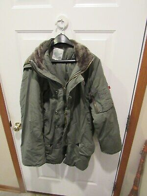 $ CDN133.81 • Buy Vintage Military Type Parka N-3B Winter Coat With Hood Rothco Adult Size Small