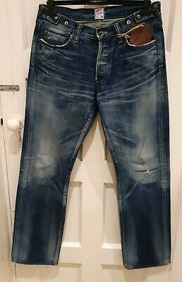 Prps Barracuda  P63P12X Men's  Jeans  Made In Japan  Size 32 • 155£