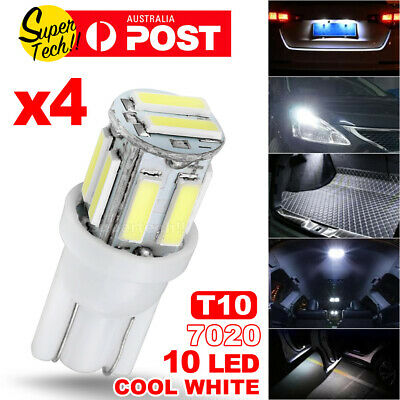 AU6.55 • Buy 4PCS T10 LED Car Lights 7020 SMD WHITE W5W WEDGE TAIL SIDE TURN PARKER BULB