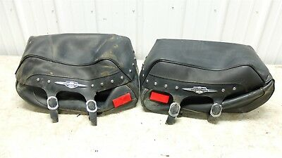 AU102.59 • Buy 08 Suzuki VLR 1800 T C109R C 109 R Boulevard Saddlebags Saddle Bags Right Left