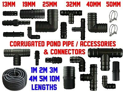 Smooth Bore Dust Extraction/ Suction Hose | 19-50mm | 1-10m | With Connectors! • 5.13£