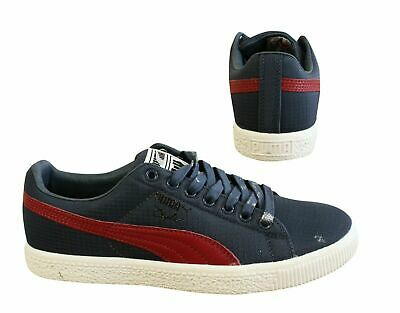 Puma Clyde X Undefeated Ripstop Blue Red Lace Up Mens Trainers 352772 01 B16 • 29.99£