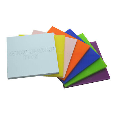 £1.71 • Buy 3mm Acrylic Samples Perspex® Plastic Cut To Size Sheet / 100+ Colours Available