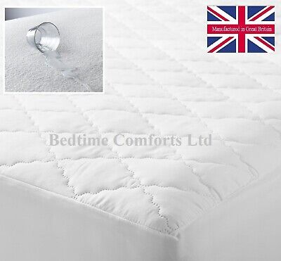 Ikea Euro King Size 63  X 78  Bed Waterproof Mattress Protector (boxed Skirt)  • 17.99£