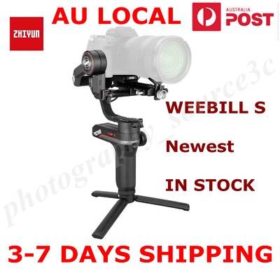 AU499 • Buy ZHIYUN WEEBILL S 3-Axis Gimbal Handheld Stabilizer For DSLR & Mirrorless Cameras