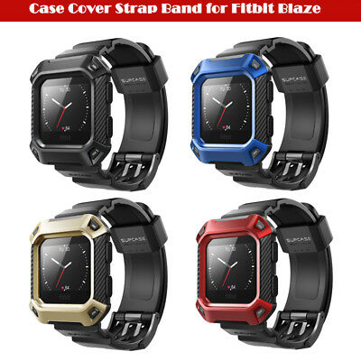 $ CDN16.67 • Buy For Fitbit Blaze, Original SUPCASE Watch Band Case Protective Cover Strap Band