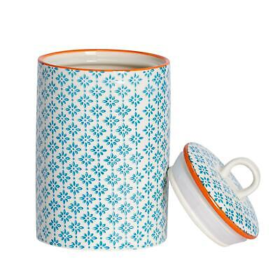 AU22.95 • Buy Kitchen Utensil Holder Pot - Porcelain Kitchen Storage - Blue Print Design