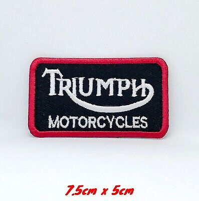 Triumph Motorcycles Biker Rocker Iron Sew On Embroidered Patch #122 • 1.99£