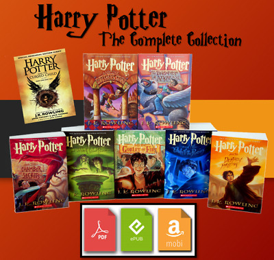 $1.55 • Buy The Harry Potter Complete E BOOK Collection 📚 + BONUS 🎁 - Fast Delivery ⚡