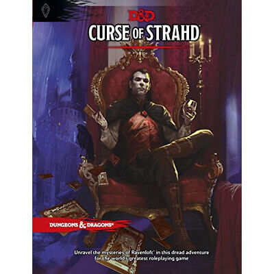 AU75.25 • Buy Dungeons & Dragons 5th Edition: Curse Of Strahd