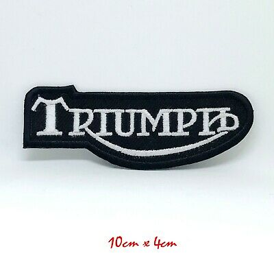 Triumph Motorcycle Daytona Street Triple Bonneville Iron On Sew On Patch #391 • 1.99£