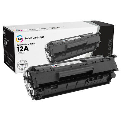 $ CDN17.08 • Buy LD Compatible Replacement For HP Q2612A / 12A Black Laser Toner Cartridge