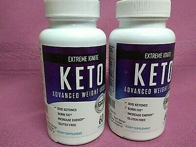 Extreme Ignite KETO Advanced Weight Loss From Shark Tank 120 Capsules EXP. 1/21 • 19.99$