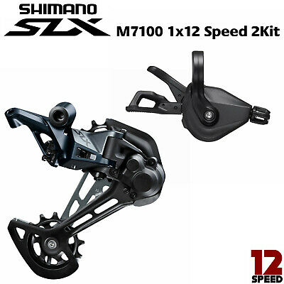 $139.99 • Buy New SHIMANO SLX M7100 1x12S 12 Speed MTB Groupset Right Shifter+Rear Derailleur