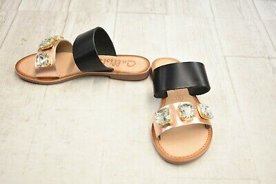 $22.60 • Buy **Callisto Wrigley Sandal - Women's Size 5, Black/Rose Gold - NEW!