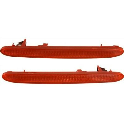 $88.54 • Buy Bumper Reflector For 2004-2008 Acura TSX Rear Driver And Passenger Side Set Of 2