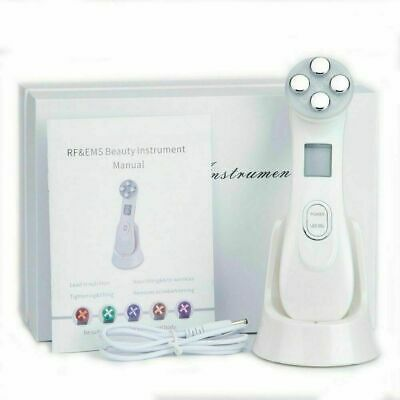AU41.13 • Buy 5 In 1 LED Skin Tightening RF Radio Frequency Facial Machine Face Photon Pen New