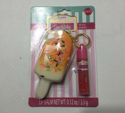 AU14.21 • Buy La Petite Pastry Shop Key Peach  Lip Balm & Ice Cream Cone Squishy Keychain